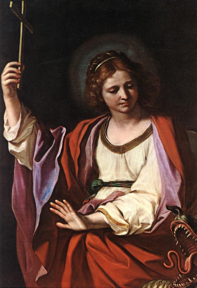 St Marguerite | Guercino | Oil Painting