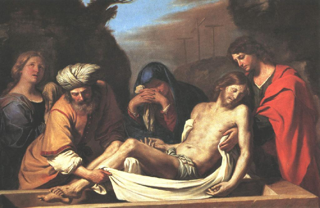 The Entombment Of Christ 1656 | Guercino | Oil Painting