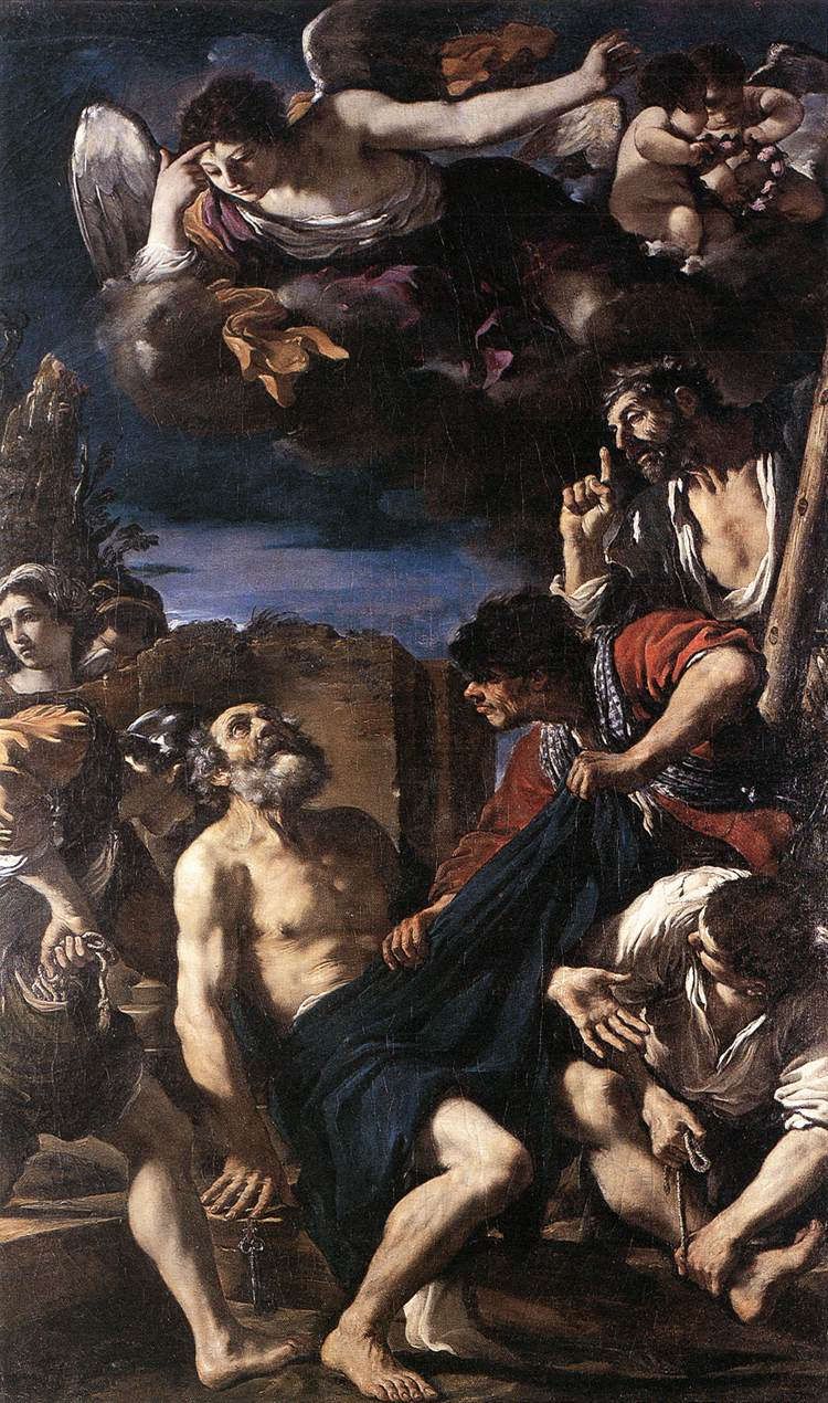 The Martyrdom Of St Peter 1618-19 | Guercino | Oil Painting