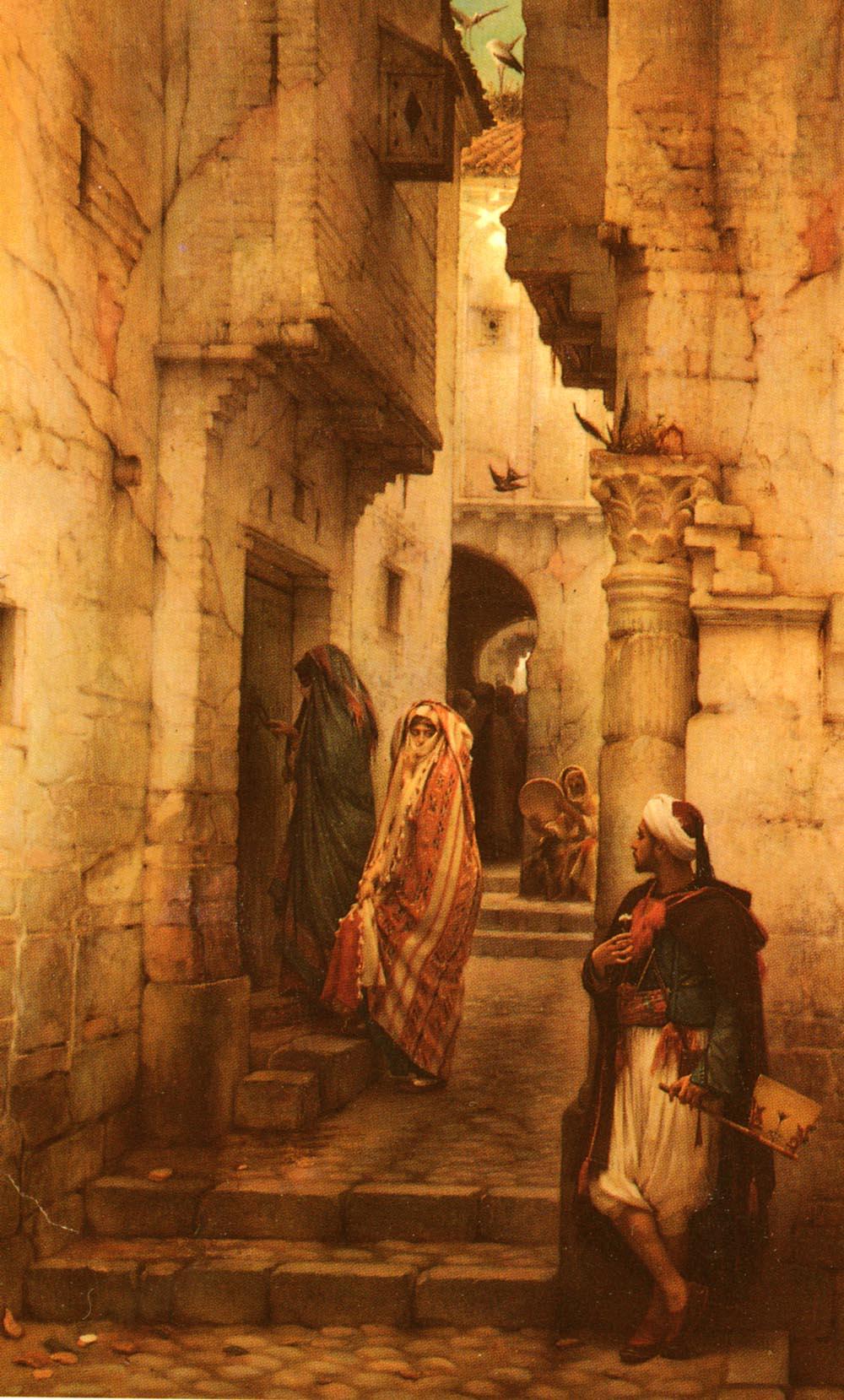 The Love Token | Guillaume Charles Lebrun | Oil Painting