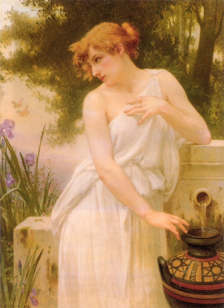 Beauty At The Well | Guillaume Seignac | Oil Painting