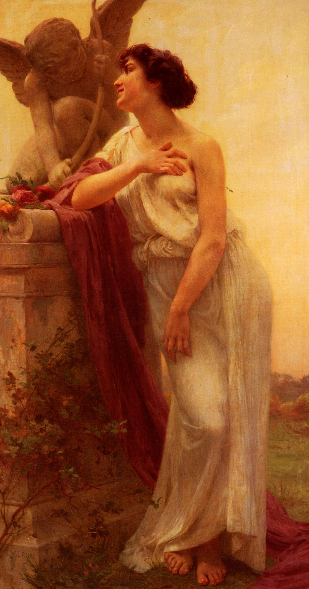 Confidence | Guillaume Seignac | Oil Painting