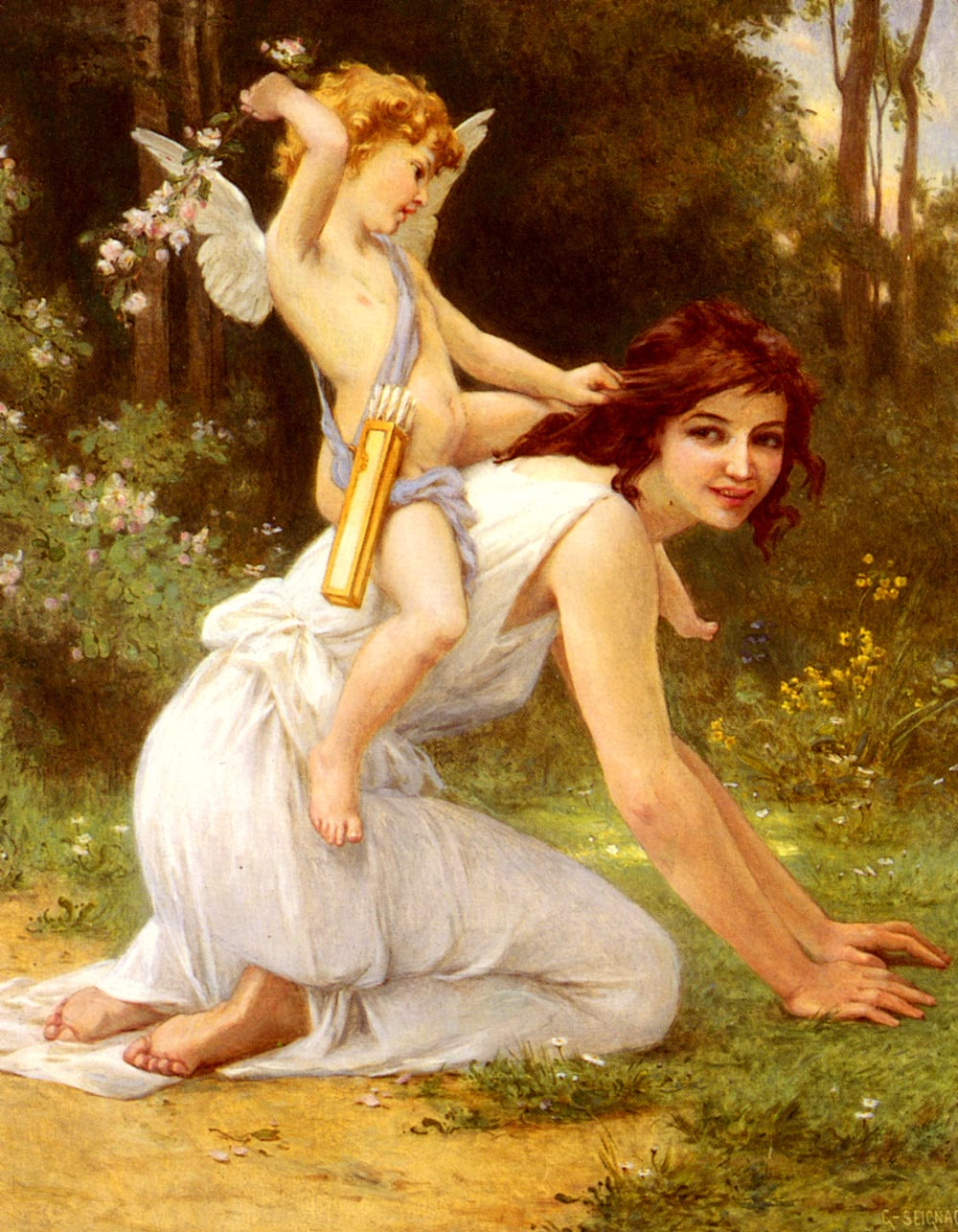 Cupids Folly | Guillaume Seignac | Oil Painting