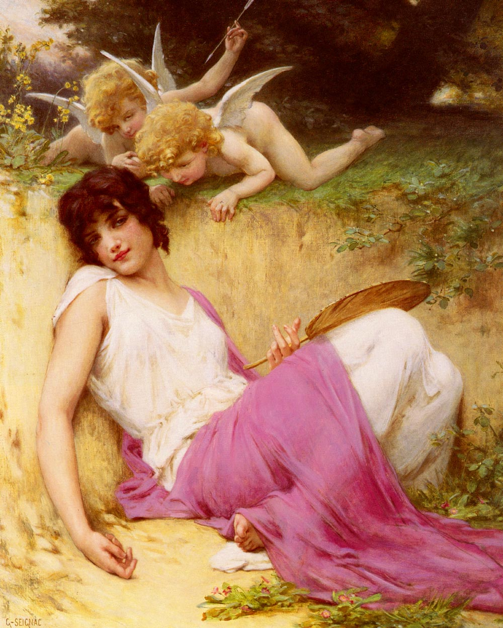L'Innocence | Guillaume Seignac | Oil Painting
