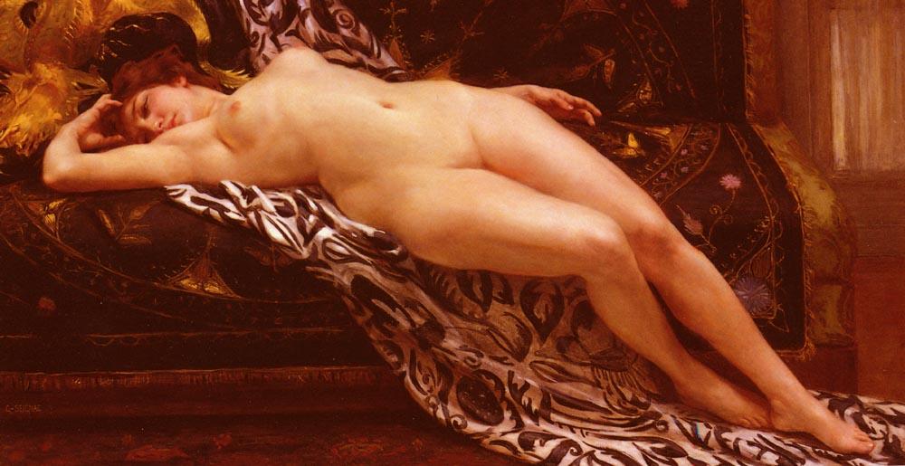 L'Abandon | Guillaume Seignac | Oil Painting