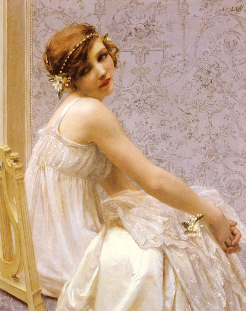 Virginite | Guillaume Seignac | Oil Painting