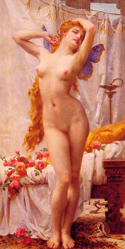 The Awakening of psyche | Guillaume Seignac | Oil Painting