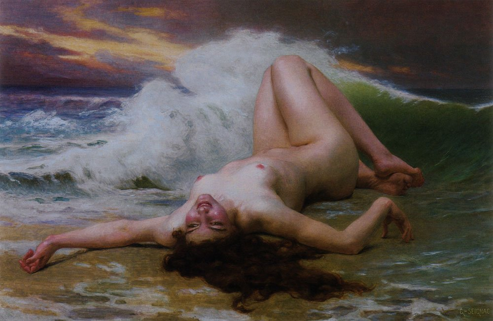 The Wave | Guillaume Seignac | Oil Painting