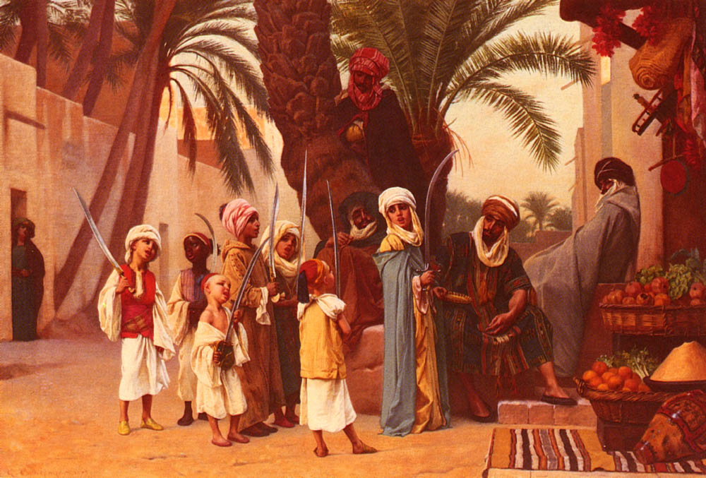 A Tale Of 1001 Nights | Gustave Boulanger | Oil Painting