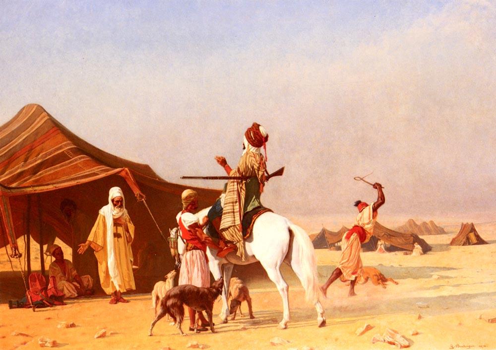 C'est Un Emir | Gustave Boulanger | Oil Painting