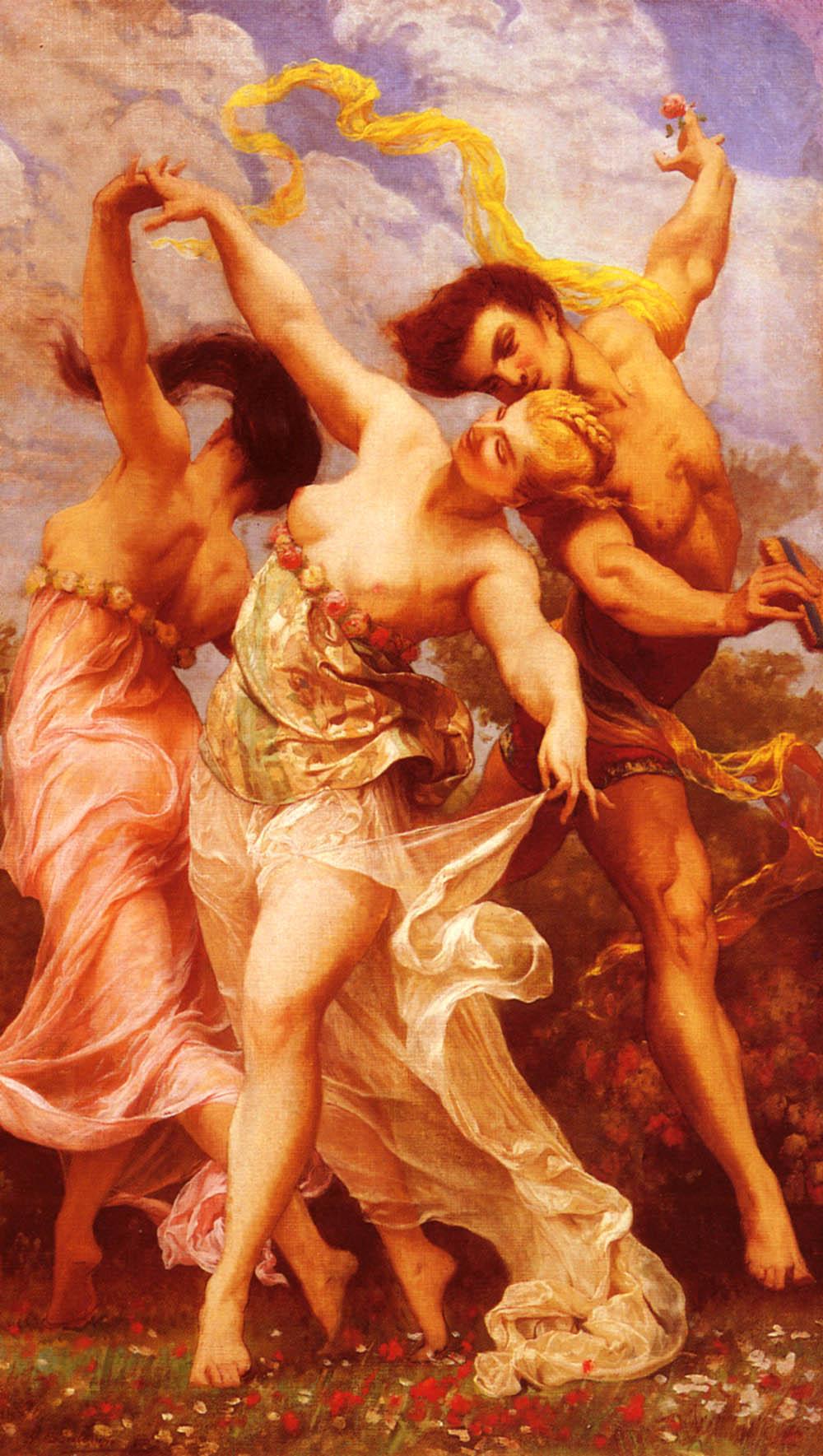 La Danse Amoureuse | Gustave Boulanger | Oil Painting