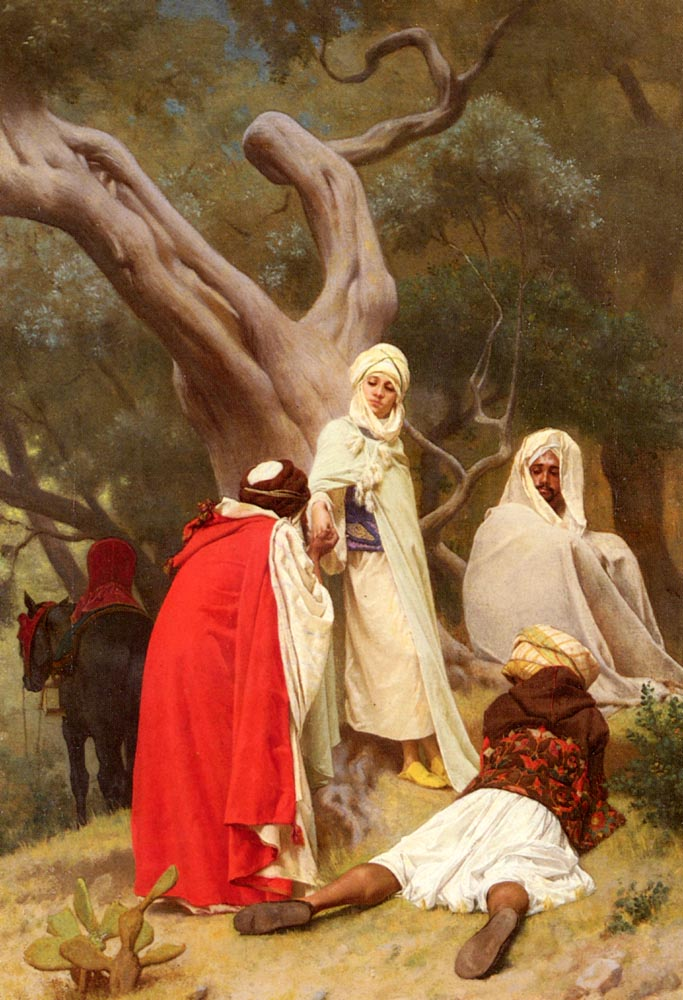 Reception Of An Emir | Gustave Boulanger | Oil Painting