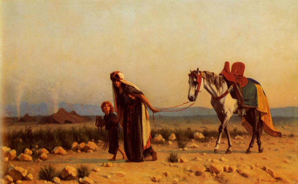 The Return | Gustave Boulanger | Oil Painting