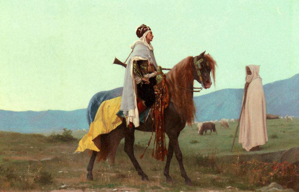 An Arab Horseman | Gustave Boulanger | Oil Painting