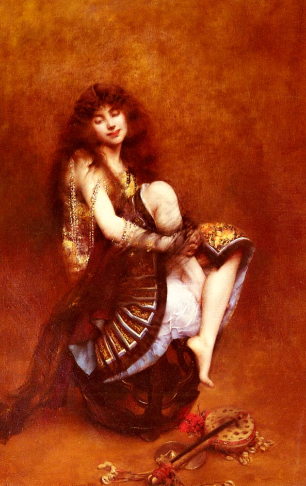 La Bayadere | Gustave Claude Etienne Courtois | Oil Painting