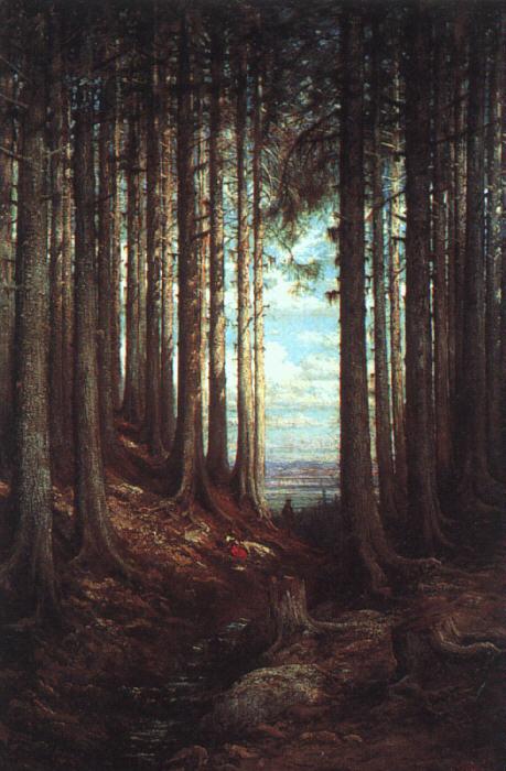 Alpine  Scene  1865 | Gustave Dore | Oil Painting
