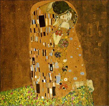 The Kiss 1907-08 | Gustav Klimt | Oil Painting