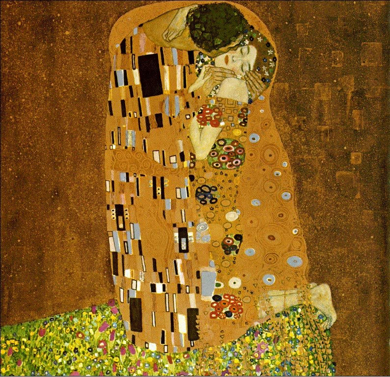 The Kiss 1907-08 | Gustav Klimt | Oil Painting