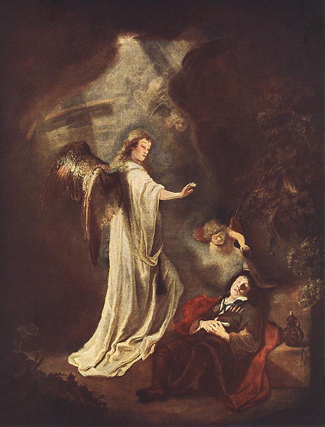 Jacobs Dream 1642 | Hans Bol | Oil Painting