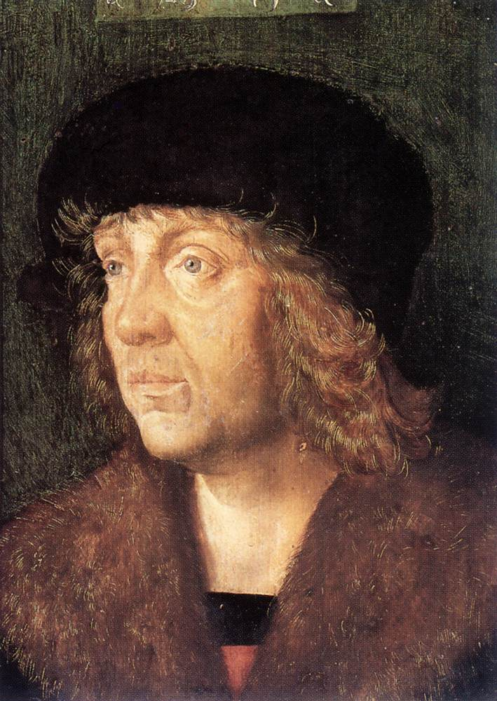 Portrait Of A Man 1505 | Hans Leonhard Schaufelein | Oil Painting