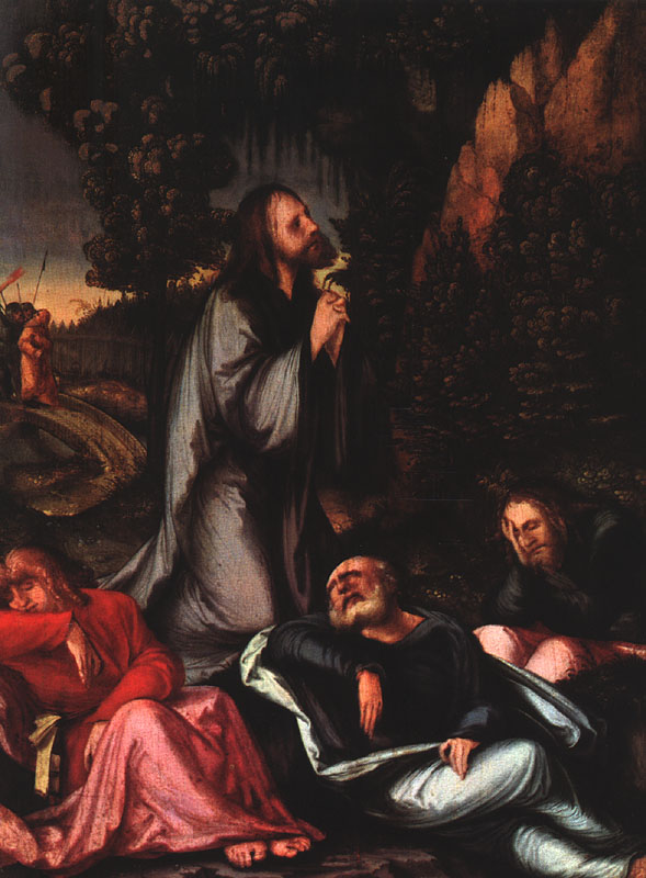 The Agony In The Garden 1516 | Hans Leonhard Schaufelein | Oil Painting