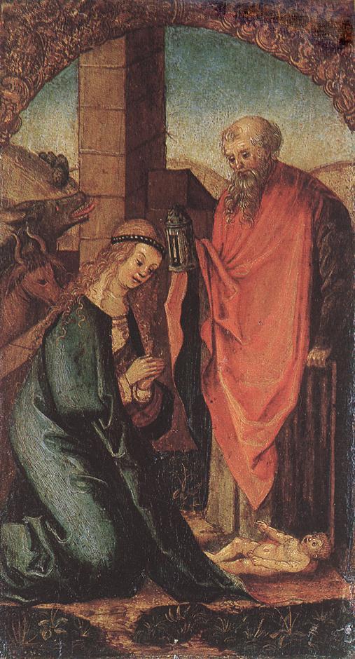 The Birth Of Christ 1505-06 | Hans Leonhard Schaufelein | Oil Painting