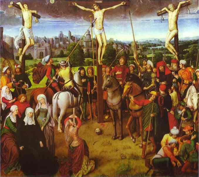 Crucifixion 1491 | Hans Memling | Oil Painting