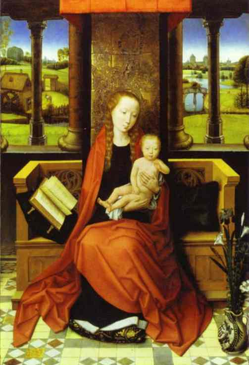 Madonna And Child 1487 | Hans Memling | Oil Painting