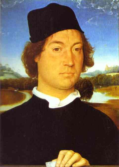 Portrait Of A Man | Hans Memling | Oil Painting