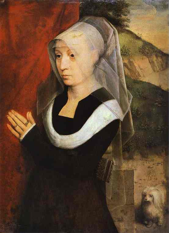 Portrait Of A Praying Woman 1485 | Hans Memling | Oil Painting