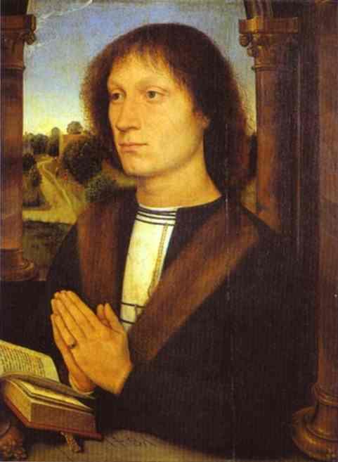 St Benedict 1487 | Hans Memling | Oil Painting