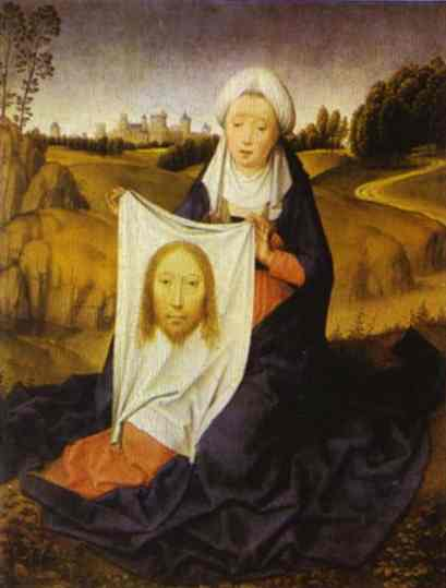 St Veronica 1480 | Hans Memling | Oil Painting