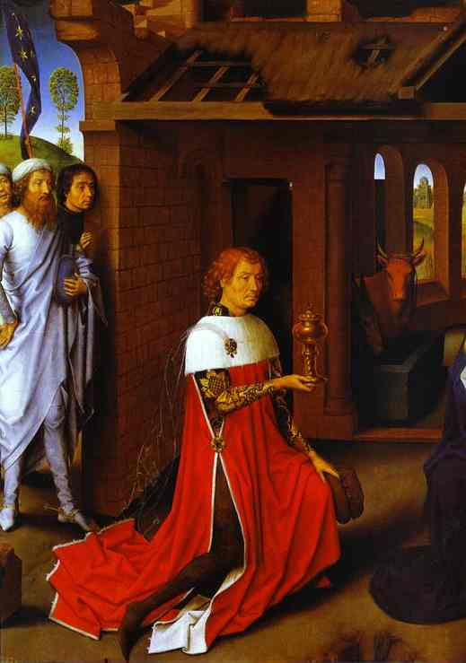 The Adoration Of The Magi Detail 1 1470s | Hans Memling | Oil Painting
