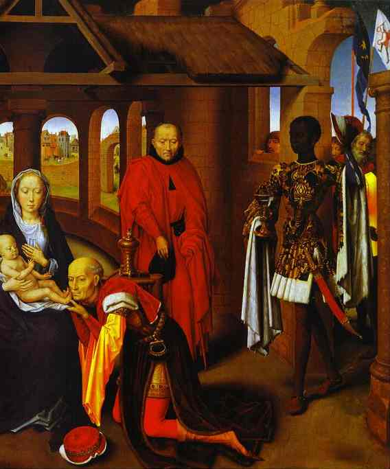 The Adoration Of The Magi Detail 2 1470s | Hans Memling | Oil Painting