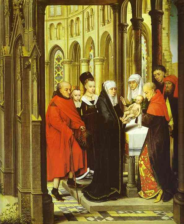 The Presentation In The Temple 1463 | Hans Memling | Oil Painting