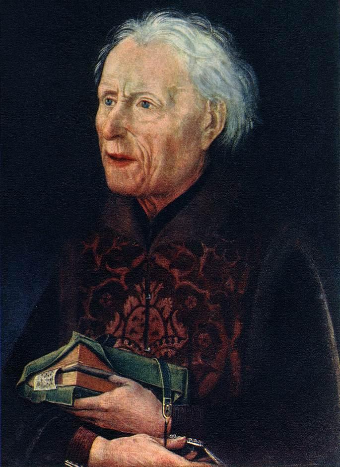 Portrait of Count Georg Von Lowenstein 1457 | Hans Pleydenwurff | Oil Painting
