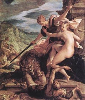 Allegory 1598 | Hans Von Aachen | Oil Painting