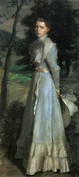 Miss Tibbie Nairn2 | Harrington Mann | Oil Painting