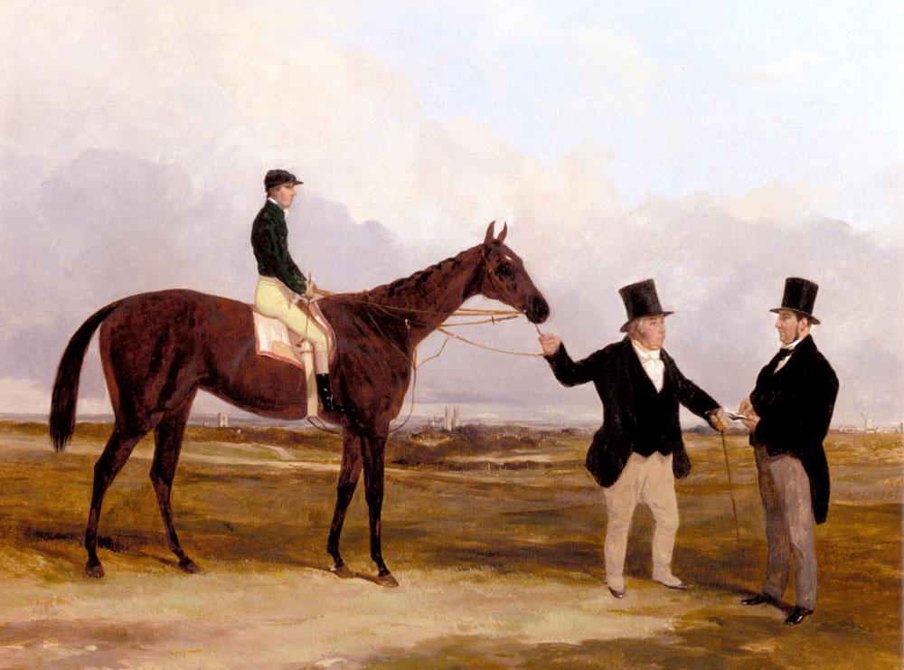 Mr. Martinsons Nancy With Job Marson Jr | Harry Hall | Oil Painting