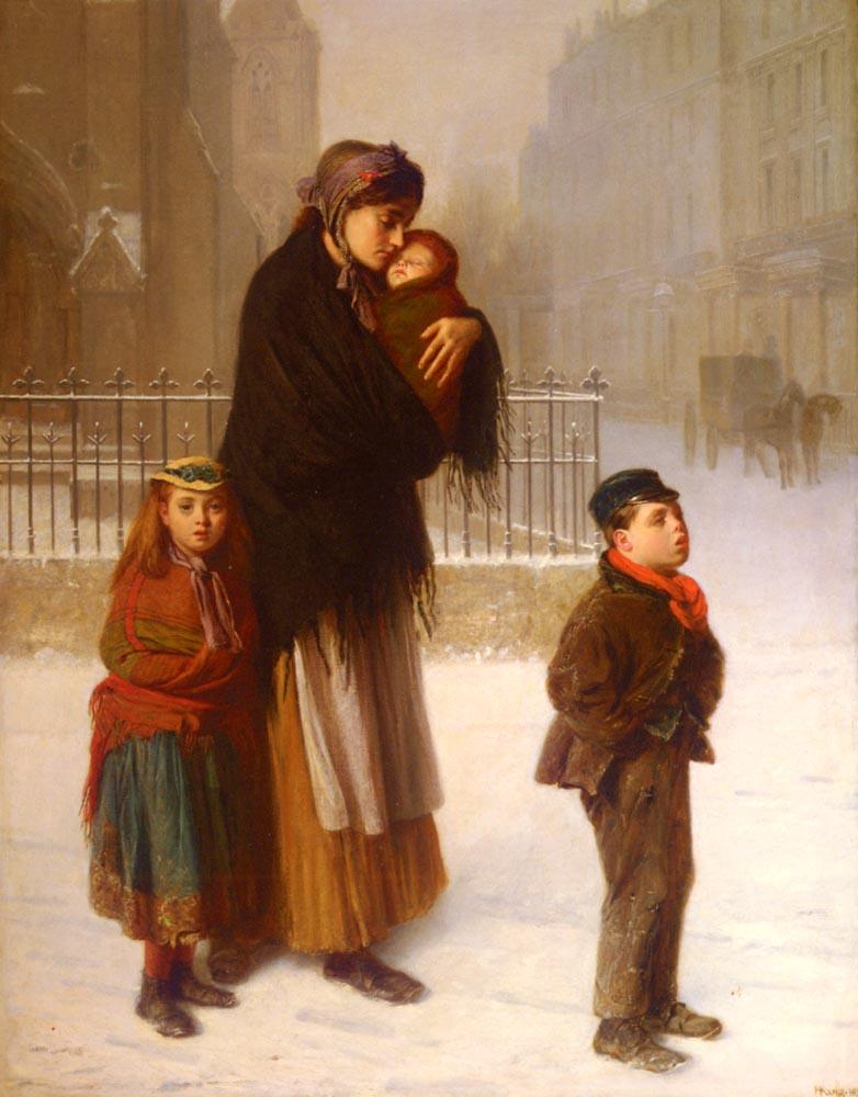 Homeless | Haynes King | Oil Painting