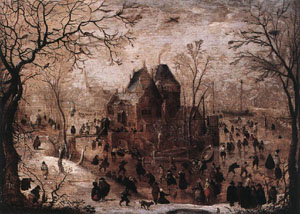 Winter Landscape 1605-10 | Hendrick Avercamp | Oil Painting