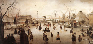 Ice Scene | Hendrick Avercamp | Oil Painting