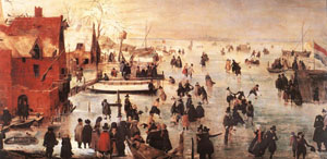 Ice Landscape | Hendrick Avercamp | Oil Painting