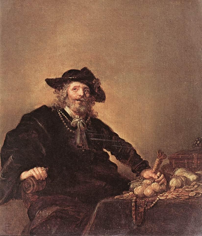 The Miser 1640s | Hendrick Gerritsz Pot | Oil Painting