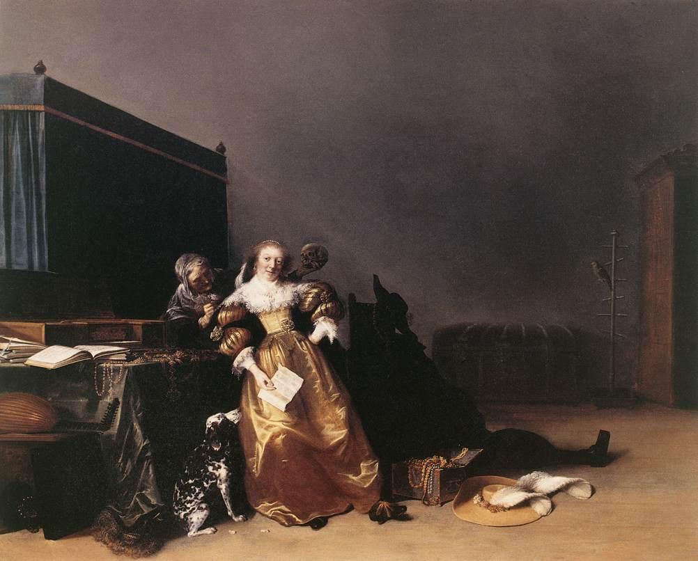Vanity 1630-35 | Hendrick Gerritsz Pot | Oil Painting