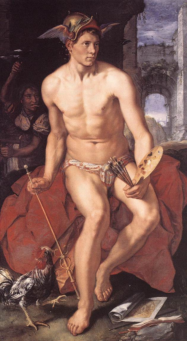 Mercury 1611 | Hendrick Goltzius | Oil Painting
