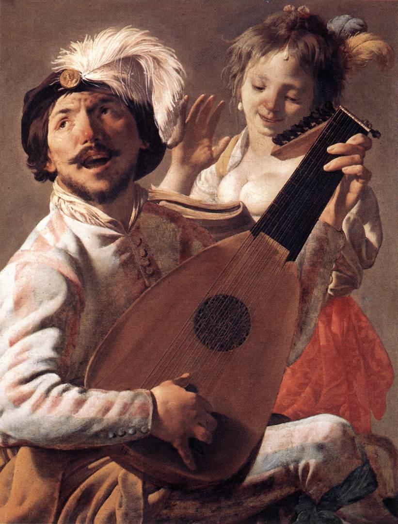 Duet 1628 | Hendrick Terbrugghen | Oil Painting