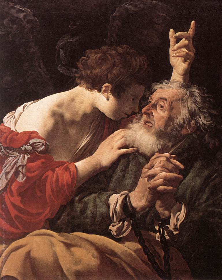 The Deliverance Of St Peter | Hendrick Terbrugghen | Oil Painting