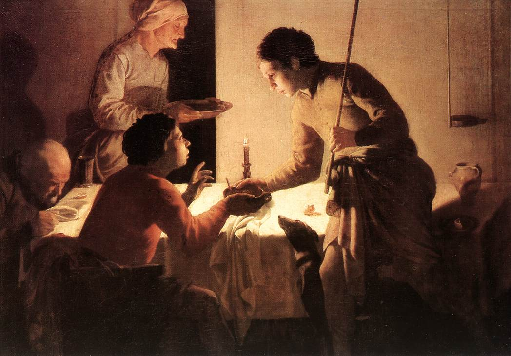 The Supper | Hendrick Terbrugghen | Oil Painting