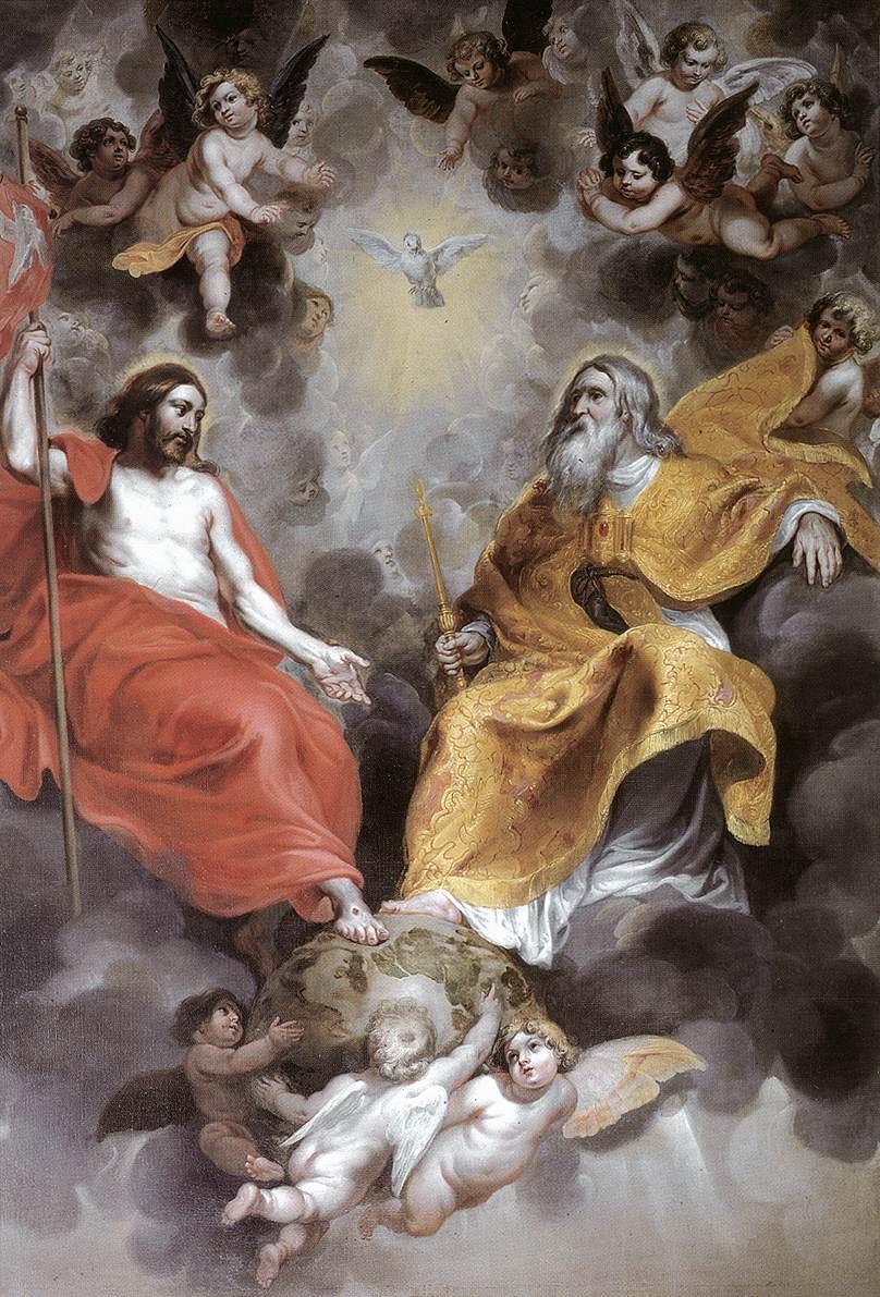 Holy Trinity 1620s | Hendrick Van Balen | Oil Painting